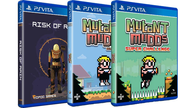Risk of Rain, Ys Origin & Mutant Mudds Deluxe Super PS Vita PS4
