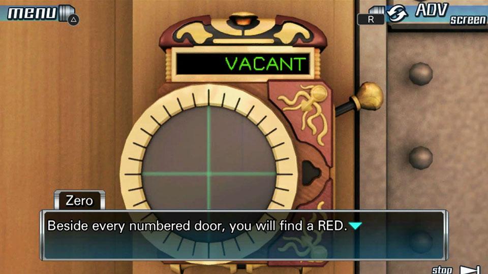 Zero Escape: The Nonary Games PS Vita