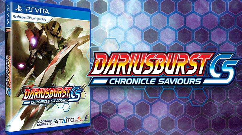 DARIUSBURST Chronicles Saviours PS Vita