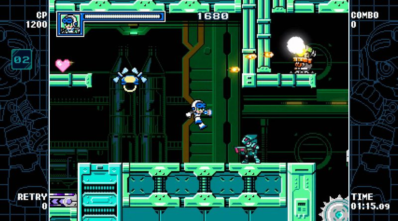 Mighty Gunvolt Burst Nintendo Switch 3DS