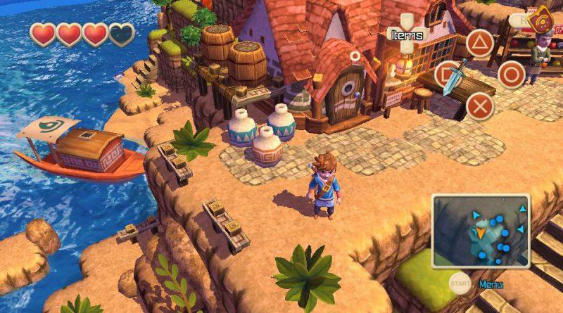 Oceanhorn: Monster of Uncharted PS Vita