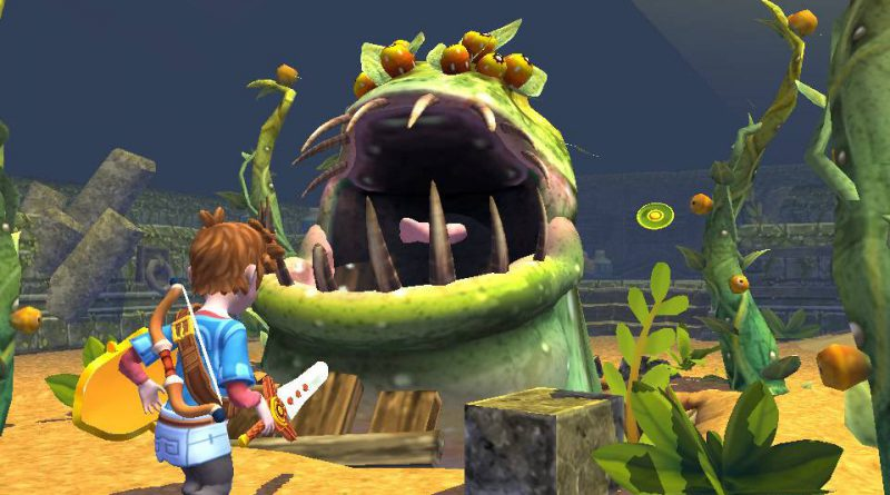 Oceanhorn: Monster of Uncharted PS Vita