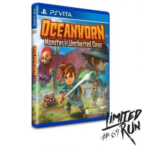 Oceanhorn: Monster of Uncharted Seas PS Vita Boxart