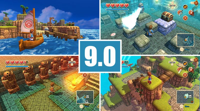 Review: Oceanhorn: Monster of Uncharted PS Vita
