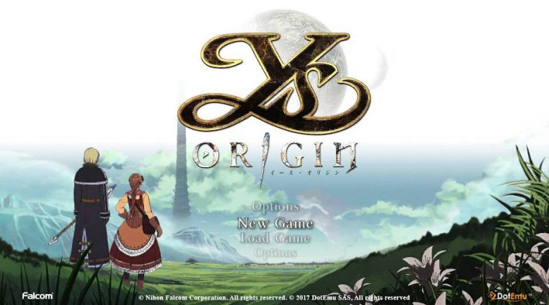Ys Origin Physical English PS Vita PS4 Release