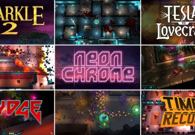 Neon Chrome, Sparkle 2, Time Recoil & More Coming To Nintendo Switch