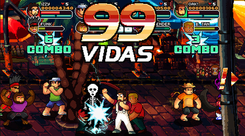 99Vidas - The Game PS Vita PS3 PS4