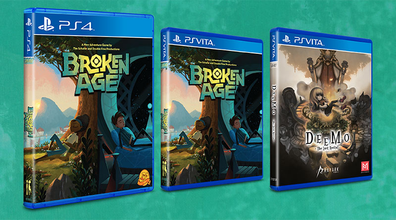 Broken Age & Deemo: The Last Recital PS Vita PS4