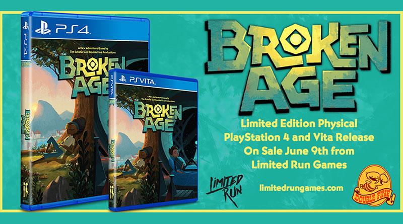 Broken Age PS Vita PS4