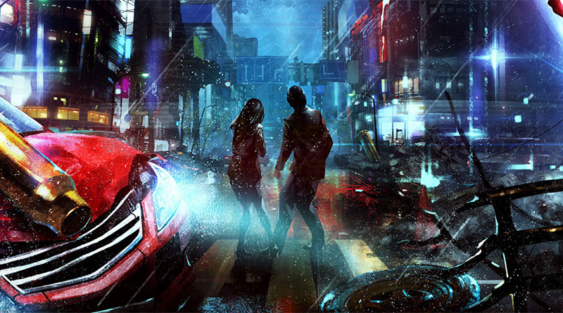 City Shrouded In Shadow PS Vita PS4