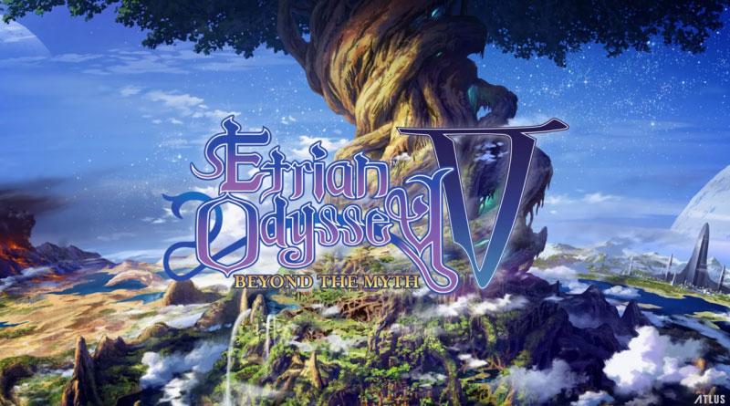 Etrian Odyssey V: Beyond the Myth 3DS
