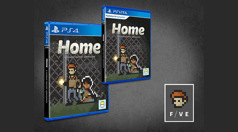 Home: A Unique Horror Adventure PS Vita PS4