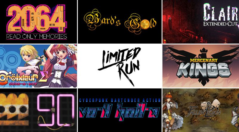 2064: Read Only Memories, Mercenary Kings, VA-11 HALL-A & More Get Physical Editions PS Vita PS4