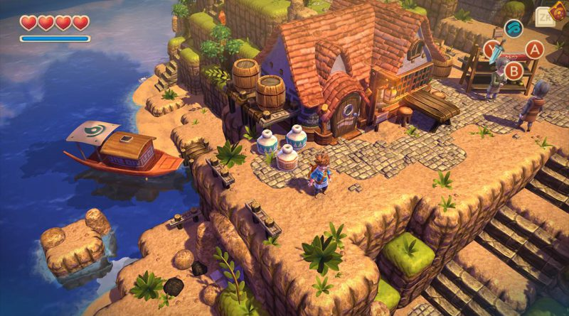 Oceanhorn: Monster of Uncharted Seas Nintendo Switch