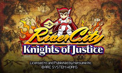 River City: Knights of Justice 3DS