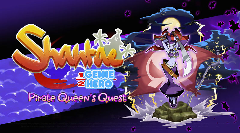 Shantae: Half-Genie Hero PS Vita PS4 Switch