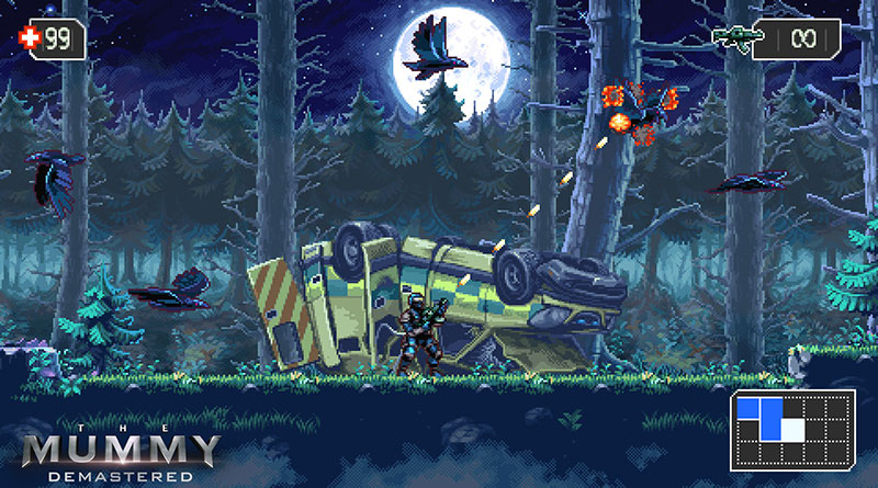 The Mummy Demastered Nintendo Switch