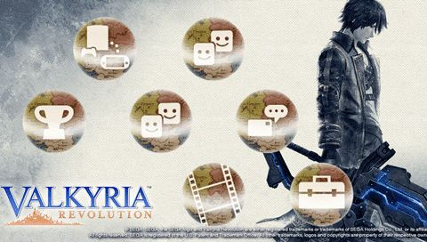Valkyria Revolution PS Vita PS4