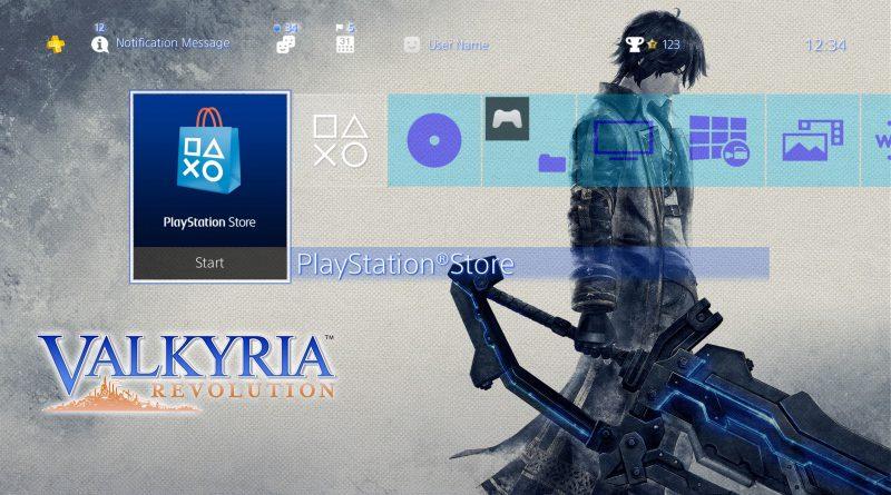 Valkyria Revolution PS Vita PS4