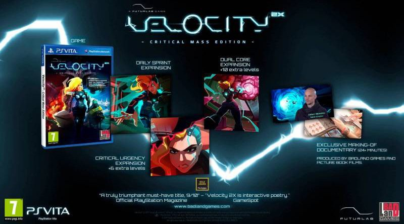 Velocity 2X Critical Mass Edition PS Vita PS4