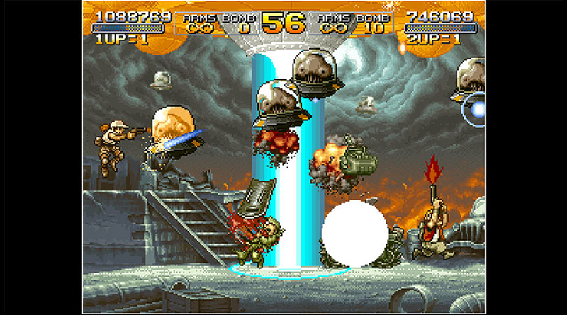 ACA NeoGeo Metal Slug 2 Nintendo Switch