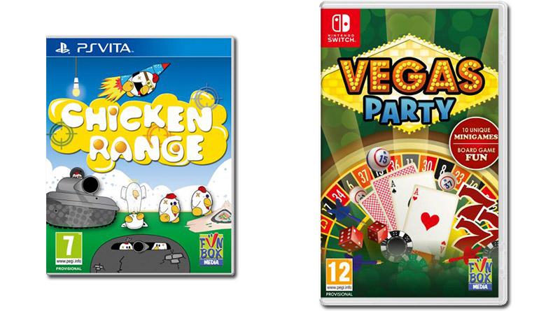 Chicken Range Vegas Party PS Vita Nintendo Switch