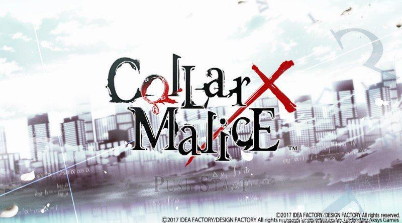 Collar X Malice PS Vita