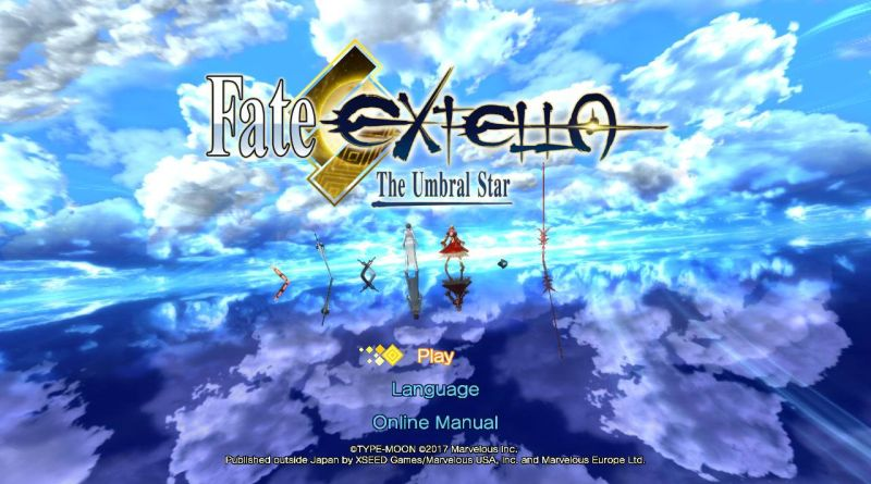 Fate/Extella: The Umbral Star Nintendo Switch