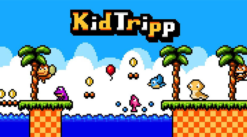 Kid Tripp Nintendo 3DS