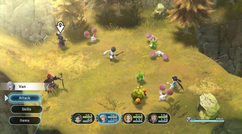 Lost Sphear Nintendo Switch PS4