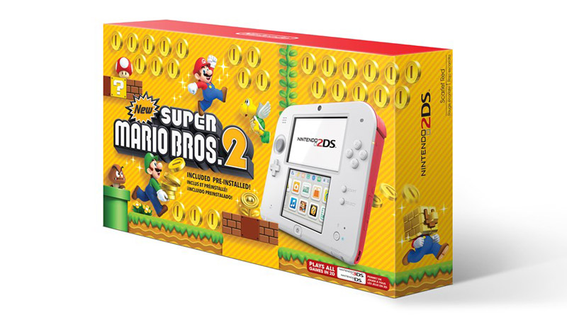 Nintendo 2DS Bundle With New Super Mario Bros. 2