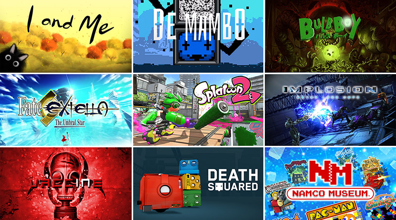 Nintendo Switch New Releases July 2017