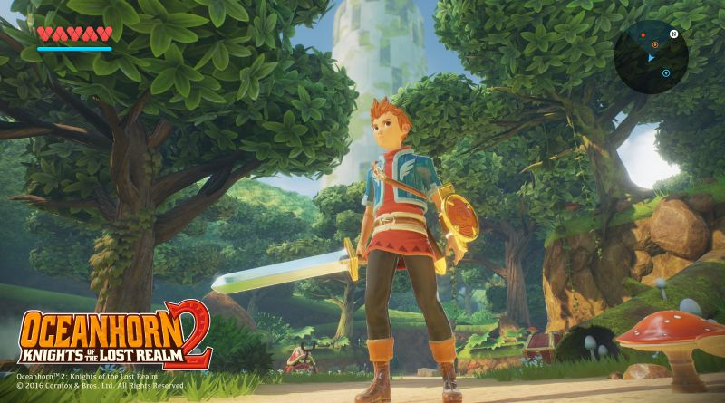 Oceanhorn 2: Knights of the Lost Realm PS Vita