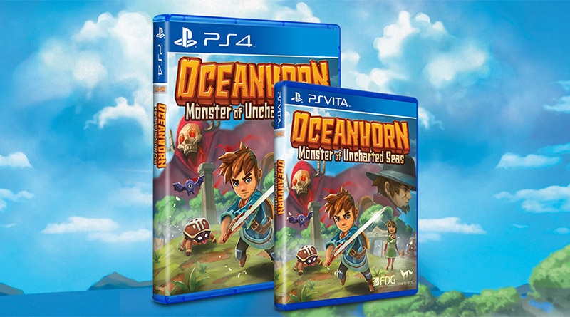 Oceanhorn Monster of Uncharted Seas PS Vita PS4 Limited Run Games