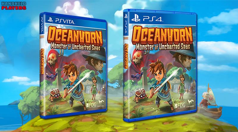 Oceanhorn: Monster of Uncharted PS Vita PS4