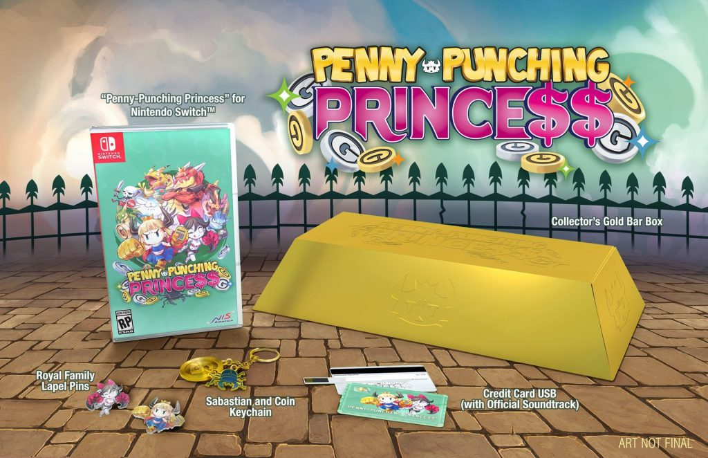 Penny-Punching Princess Limited Edition Nintendo Switch