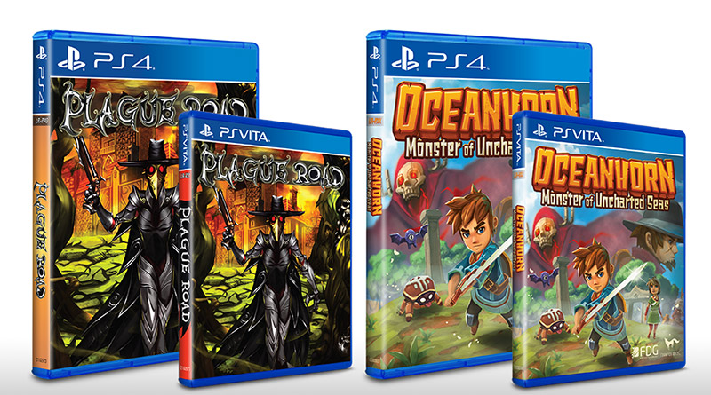 Plauge Road Oceanhorn Monster of Uncharted Seas PS Vita PS4 Limited Run Games