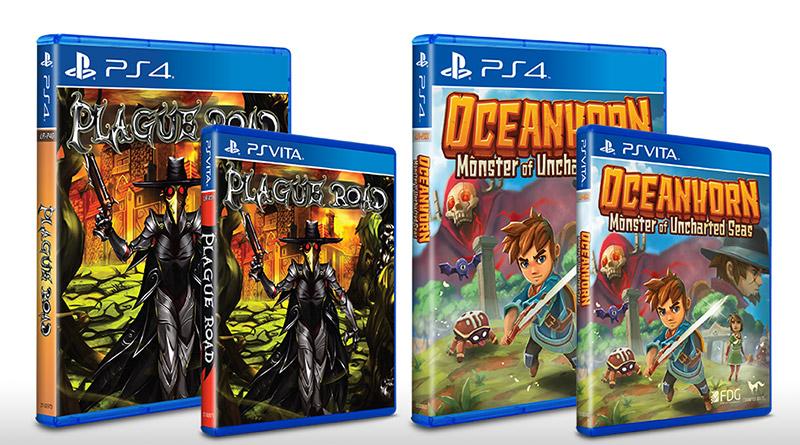 Plauge Road Oceanhorn Monster of Uncharted Seas PS Vita PS4 Limited Run Games