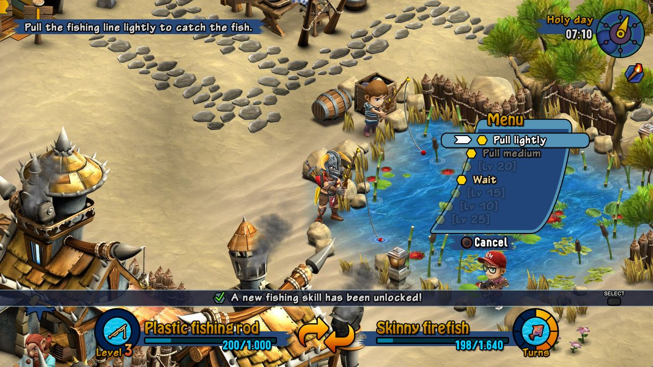 Rainbow skies gets new screenshots introducing new fishing for Ps3 fishing games