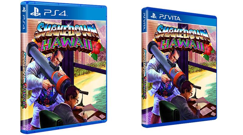 Shakedown Hawaii PS Vita PS4