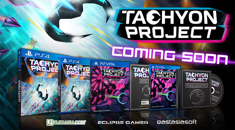 Tachyon Project Limited Editions PS Vita PS4