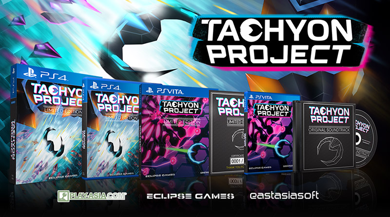 Tachyon Project Limited PS Vita & PS4 Editions Available For Pre-Order