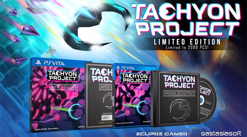 Tachyon Project Limited Edition PS Vita