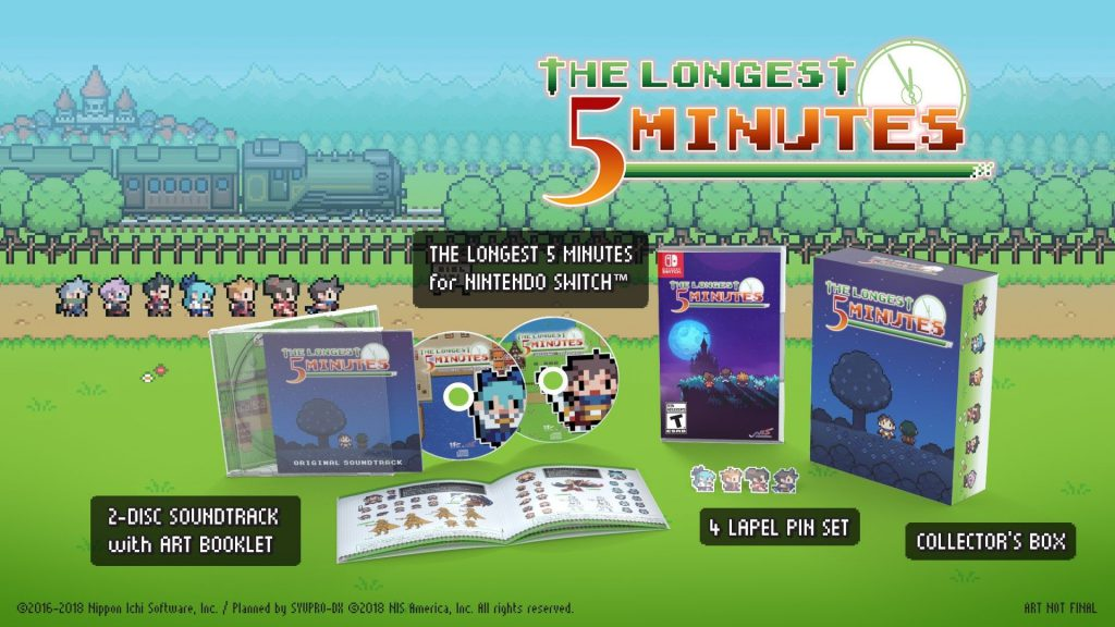 The Longest Five Minutes Nintendo Switch Limited Edition