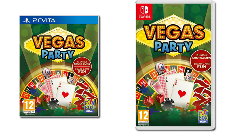 Vegas Party PS Vita Nintendo Switch