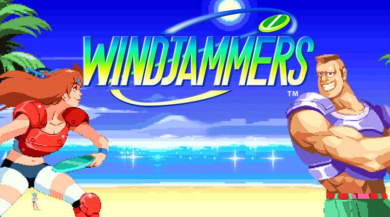 Windjammers PS Vita