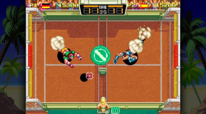 Windjammers PS Vita PS4