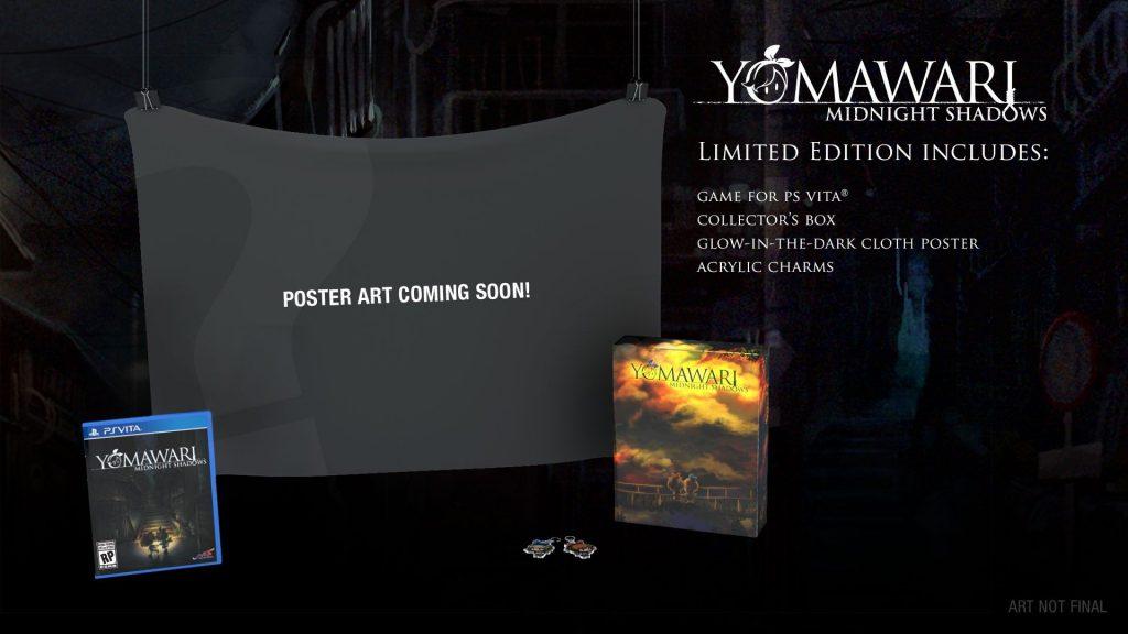 Yomawari: Midnight Shadows PS Vita PS4 Limited Edition