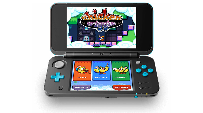 Chicken Wiggle Nintendo 3DS