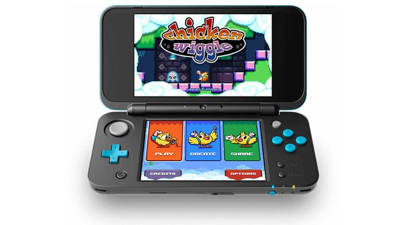 Chicken Wiggle Nintendo 3DS